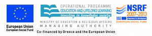 EU European Social Fund - Education and Lifelong Learning - Co-financed by Greece and the European Union