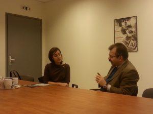 Επίσκεψη της πρέσβεως του Ισραήλ α.ε. κας Irit Ben-Abba Vitale στο ΠΕΔιΣ