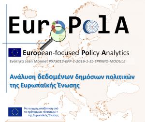 """New Jean Monnet Module """"EuroPolA"""""""