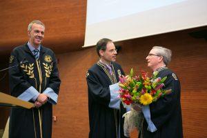 Professor Joseph Morris Grieco Honorary Doctorate of the PSIR Department