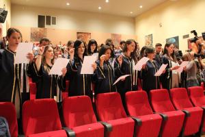 Ορκωμοσία Προπτυχιακών και Μεταπτυχιακών αποφοίτων ΠΕΔιΣ (Κόρινθος, 30 Απριλίου 2018)