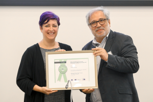 The European Commission gives award to PEDIS