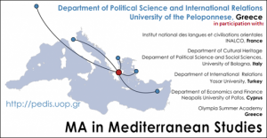 Master of Arts (M.A.) in Mediterranean Studies: Call for Applications (Academic year 2019/20)