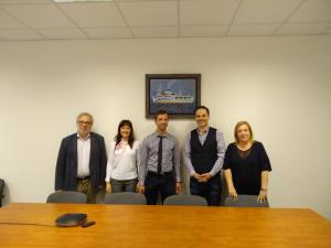 Επίσκεψη του Αναπλ. Καθηγητή Marcel Lincenyi στο ΠΕΔιΣ