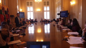 Επίσκεψη φοιτητών του ΠΕΔιΣ σε Υπηρεσίες της Ευρωπαϊκής Ένωσης στην Αθήνα