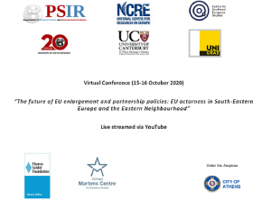 The future of EU enlargement and partnership policies: EU actorness in South-Eastern Europe and the Eastern Neighbourhood