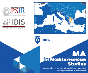 MA in Mediterranean Studies:Call for Applications